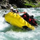 Activitats aquàtiques al riu Noguera Pallaresa