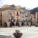 Plaça porxada i nucli medieval d´Amer