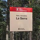 Àrea d´esbarjo de la Serra