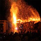 Erulet i la màgia del foc a Les