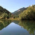 Pantà de la Torrassa a la Guingueta d´Àneu