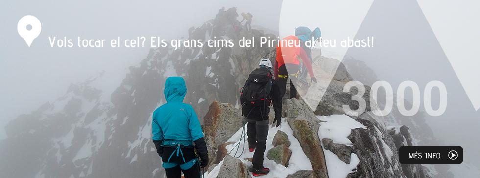 Vols tocar el cel? Els grans cims del Pirineu al teu abast!