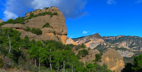 Serra d�Auben� i serra de Sant Honorat