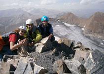 Aiguille du Goleón (3.427m).
