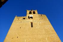 Façana de l´església de Sant Esteve.
