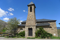 Església parroquial de Sant Pere a Pujalt.