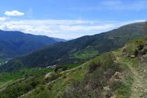 Vistes de la vall de Montardit.