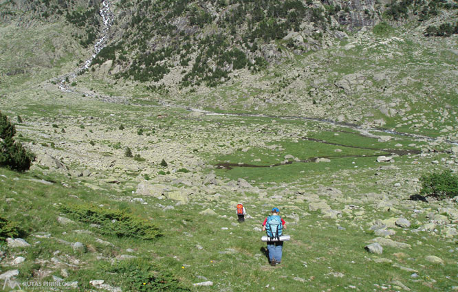 Besiberri Nord (3.014m) des de Cavallers per riu Malo 2