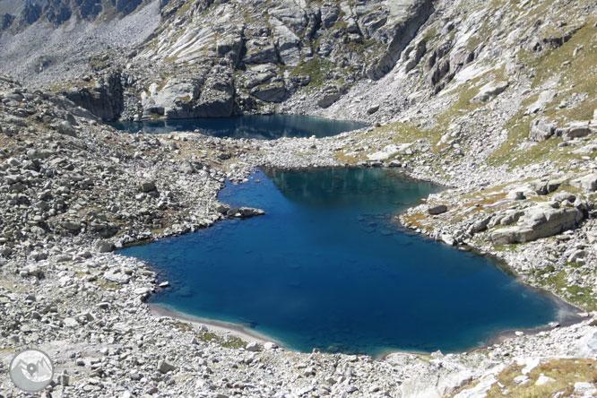 Besiberri Sud (3.024m) i Comaloforno (3.029m) pels estanys de Gémena 1