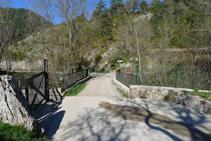 Pont sobre el riu del Pendís a Cal Cerdanyola.