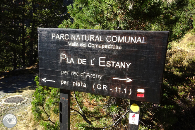 Camí de Percanela - Les Fonts - Pla de l