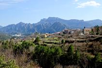 Vistes a la serra de Busa i Sant Llorenç.
