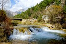 El riu Cardener a la vall de Lord.