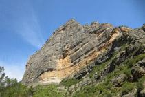 Roca Regina, més de 300m de paret vertical.