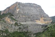 Vista panoràmica de Roca Regina, des de la part més alta del recorregut.