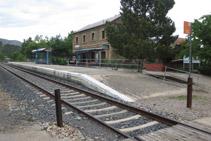Estació de tren de Cellers (línia Lleida - La Pobla de Segur).