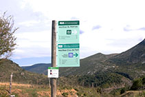 Panell inici de ruta.