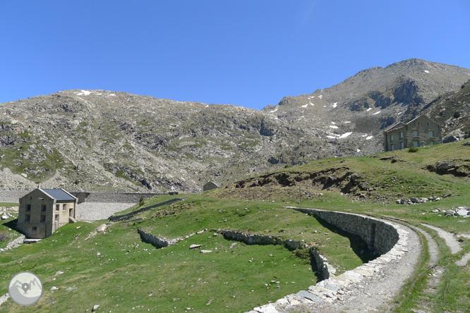 Estany Gento pel camí de la canal de Pigolo 1