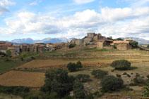 Poble d´Hortoneda, situat a uns 1.000m d´altitud, a la zona coneguda com a Conca de Dalt.