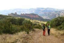Boniques vistes de la Roca Santa.