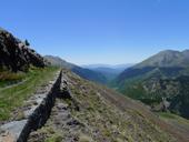 Carrilet de l�estany Gento a la Vall Fosca