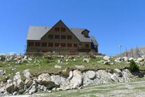 Antic alberg-refugi de l´estany Gento.