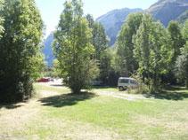 Arribem a l´aparcament de la vall de Pineta, punt final de la nostra excursió.