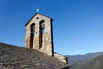 Campanar de l´església  de Sant Andreu.