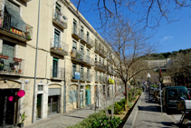 Plaça de Sant Pere de Galligants.