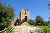 Torre del castell de Sant Miquel.