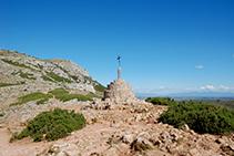 Coll i creu de Santa Caterina.