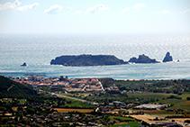 La plana al·luvial del Ter, l´Estartit i les illes Medes.