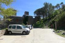 Extrem SO del monestir.