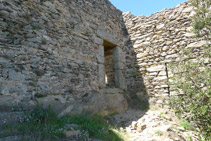 Ruïnes del castell de Sant Salvador.