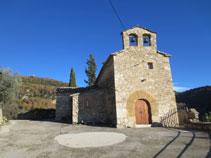 Església de Sant Miquel de la Vall.