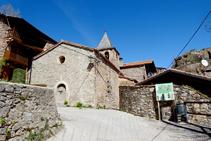 Església de Querforadat.