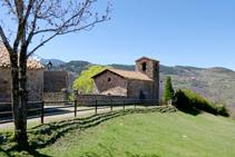 Església de Sant Climent de Cava.