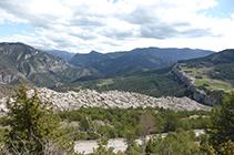 Vistes des del mirador de Cap Deig.