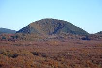 El volcà del Croscat.