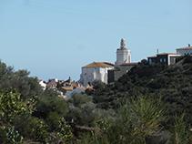 Vistes de l´església de Santa Maria de Cadaqués.