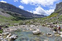 Impressionant panoràmica de la vall d´Ordesa des de la seva capçalera.