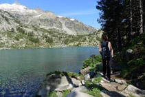 Rodegem el llac occidental de Les Laquettes.