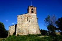 Església de Santa Maria de Sapeira.
