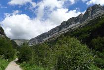 Camí de la vall d´Ordesa.