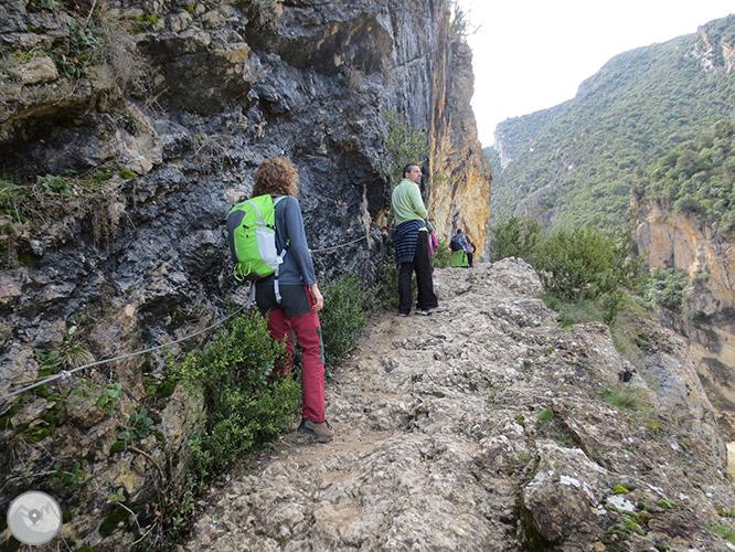 Congost de Mont-rebei a la serra del Montsec 1