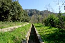 Canal de Sant Jordi i muntanya del Congost.