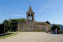 Església de Sant Cosme i Sant Damià.