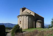Església romànica de Sant Pere de Montgrony.