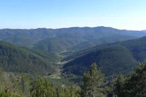 Vistes de la vall de Gombrèn.