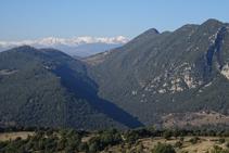 Serra de Bestracà i el Pirineu oriental.
